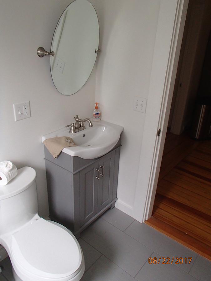 Newport bathroom remodel