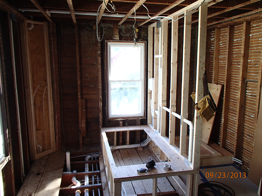 Design build Newport bathroom remodel