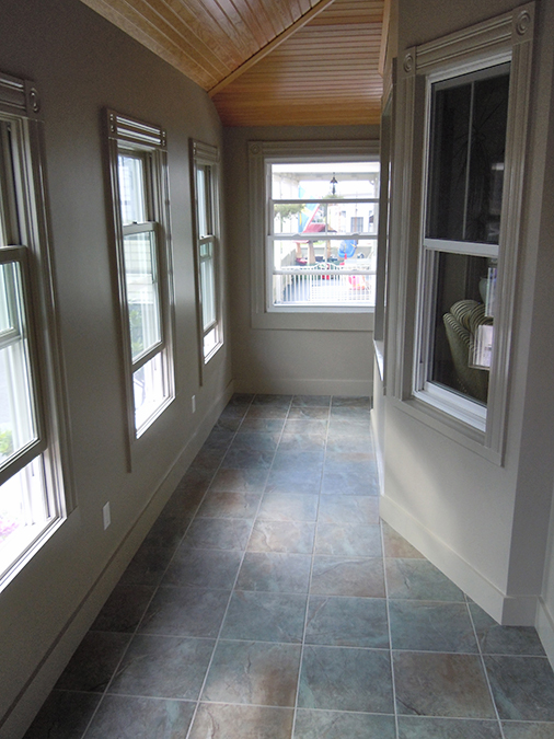 Foyer Renovation in Newport