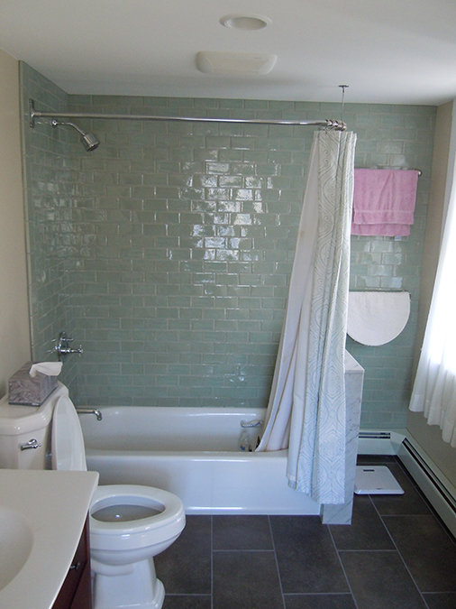 East Greenwich bathroom remodel