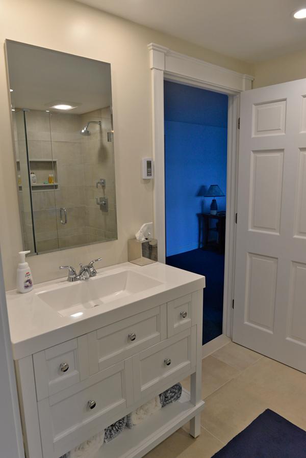 bathroom renovation in Jamestown